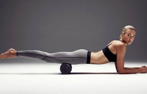 entrenamiento foam roller